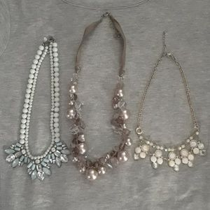 Set of Three Necklaces